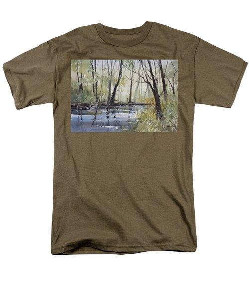 Pine River Reflections Men's T-Shirt  (Regular Fit) by Ryan Radke