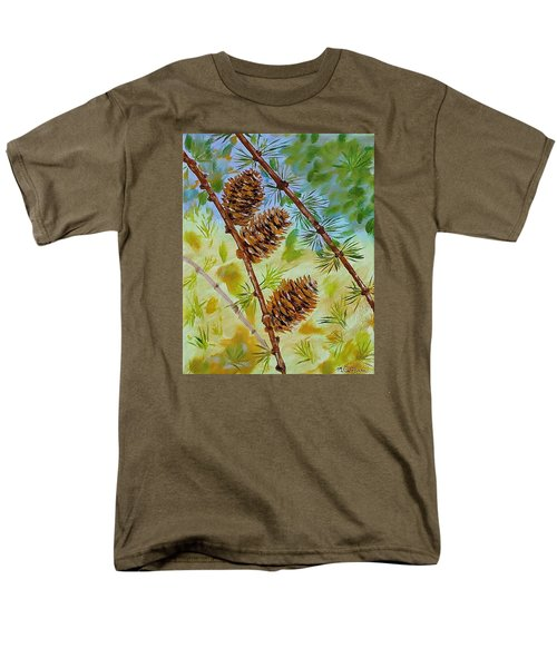Pinecones  Men's T-Shirt  (Regular Fit) by Mike Caitham