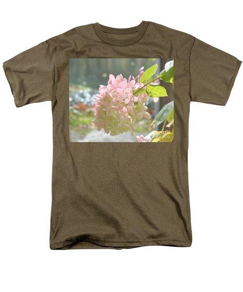 Pink Bloom In Sun Men's T-Shirt  (Regular Fit) by Christina Verdgeline