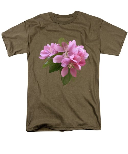 Pink Blossoms Men's T-Shirt  (Regular Fit) by Ivana Westin