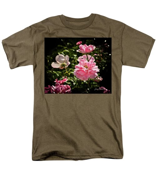 Men's T-Shirt  (Regular Fit) featuring the photograph Pink Passion  by Joann Copeland-Paul