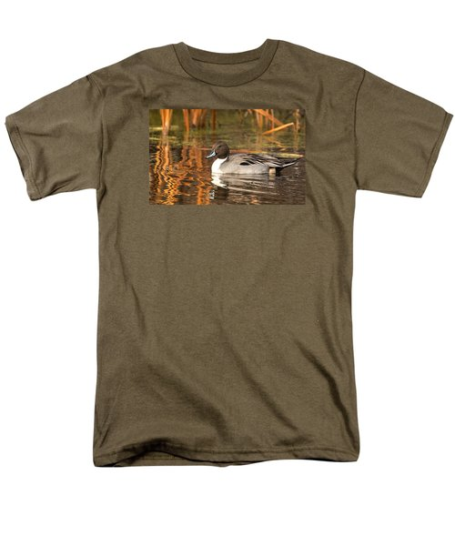 Men's T-Shirt  (Regular Fit) featuring the photograph Pintail by Kelly Marquardt