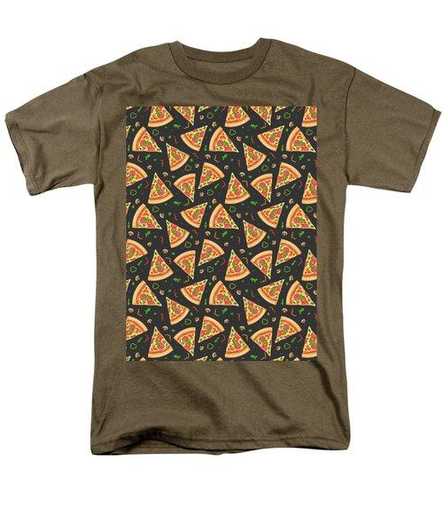 Pizza Slices Men's T-Shirt  (Regular Fit)