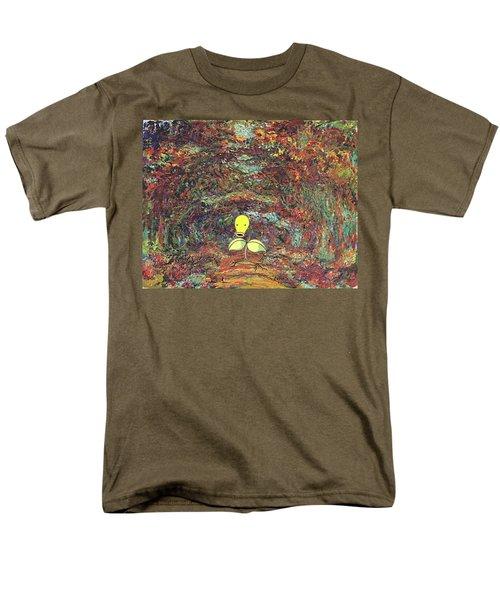 Men's T-Shirt  (Regular Fit) featuring the digital art Planet Pokemonet  by Greg Sharpe