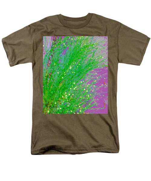 Men's T-Shirt  (Regular Fit) featuring the photograph Plant Design by Lenore Senior