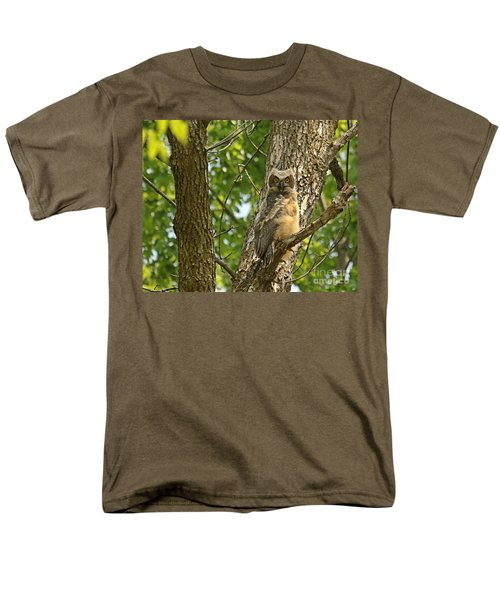 Men's T-Shirt  (Regular Fit) featuring the photograph Pleasantly Surprised  by Heather King