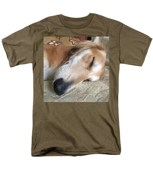 Please Be Quiet. Saluki Men's T-Shirt  (Regular Fit) by John Edwards