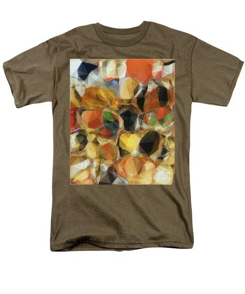 Men's T-Shirt  (Regular Fit) featuring the photograph Crazy Quilt by Kathie Chicoine