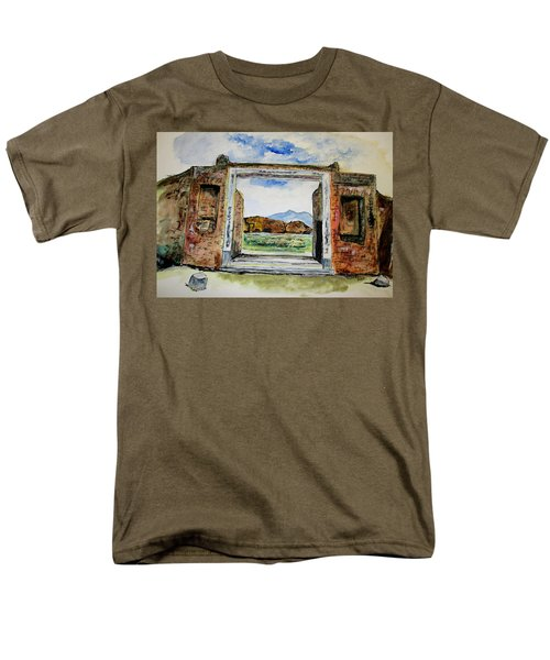 Pompeii Doorway Men's T-Shirt  (Regular Fit)