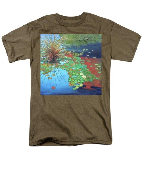 Pond Men's T-Shirt  (Regular Fit) by Gary Coleman