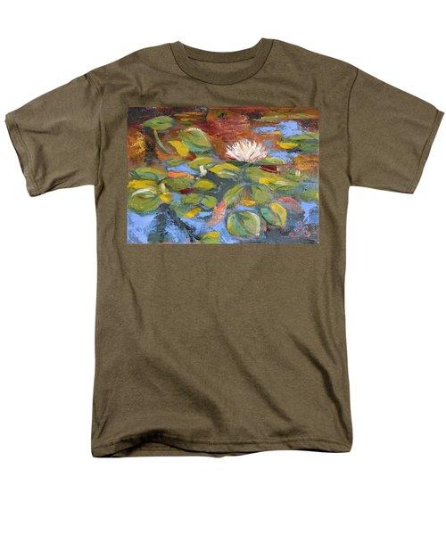 Pond Play Men's T-Shirt  (Regular Fit) by Trina Teele