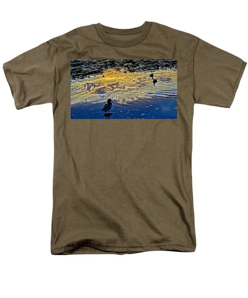 Pondscape Men's T-Shirt  (Regular Fit) by Jeffrey Friedkin