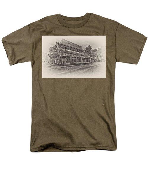 Poole's Crossroads In Sepia Men's T-Shirt  (Regular Fit)
