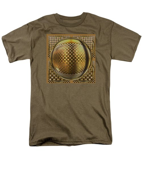 Men's T-Shirt  (Regular Fit) featuring the digital art Pop Art Circles by Mario Carini