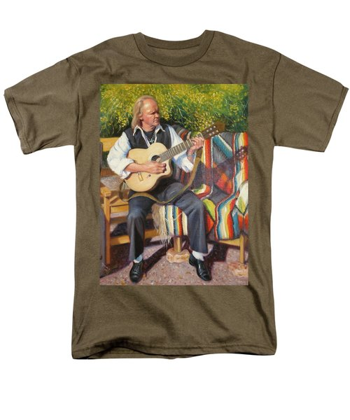 Men's T-Shirt  (Regular Fit) featuring the painting Por Tu Amor by Donelli  DiMaria