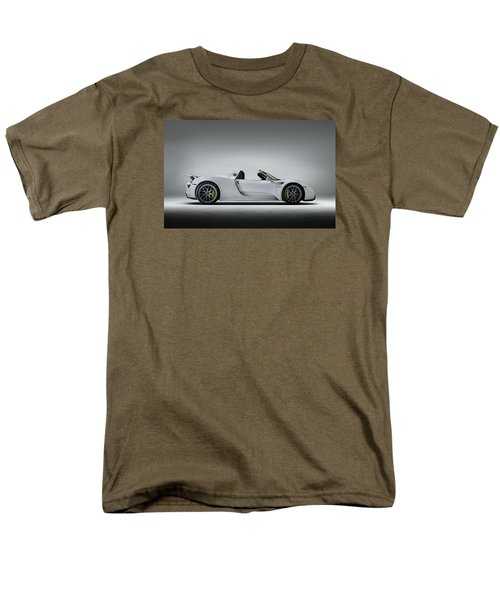 Porsche 918 Spyder Men's T-Shirt  (Regular Fit) by Douglas Pittman