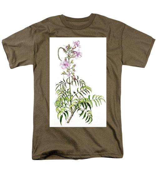 Men's T-Shirt  (Regular Fit) featuring the painting Port St John's Creeper by Heidi Kriel