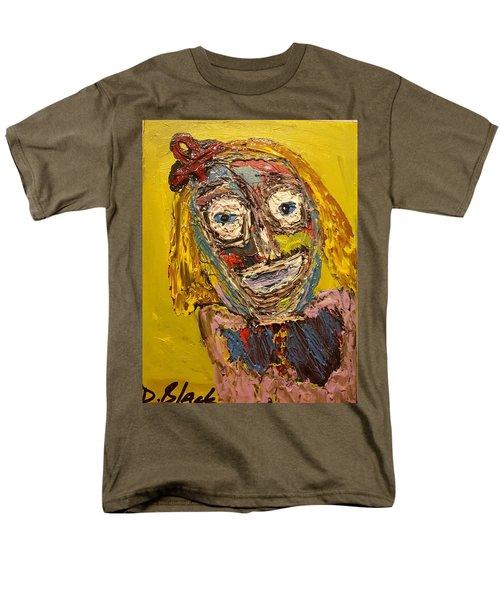 Portrait Of Finja Men's T-Shirt  (Regular Fit) by Darrell Black