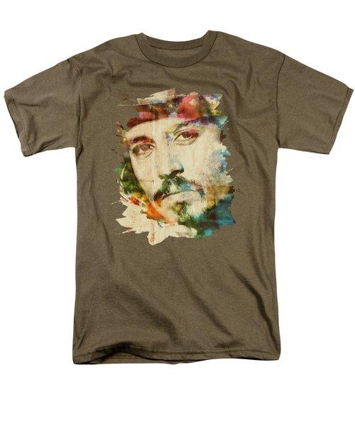 Portrait Of Johnny Men's T-Shirt  (Regular Fit) by Maria Arango