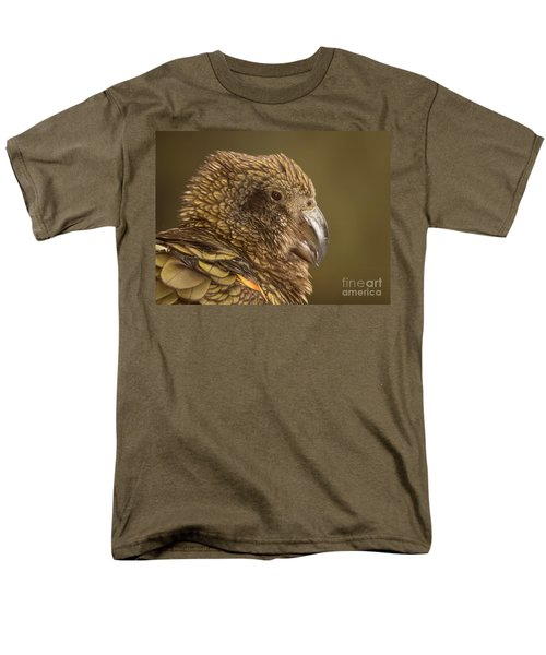 Men's T-Shirt  (Regular Fit) featuring the photograph Portrait Of Kea Calling by Max Allen