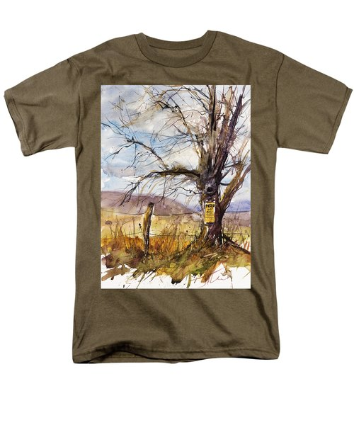 Posted Men's T-Shirt  (Regular Fit) by Judith Levins