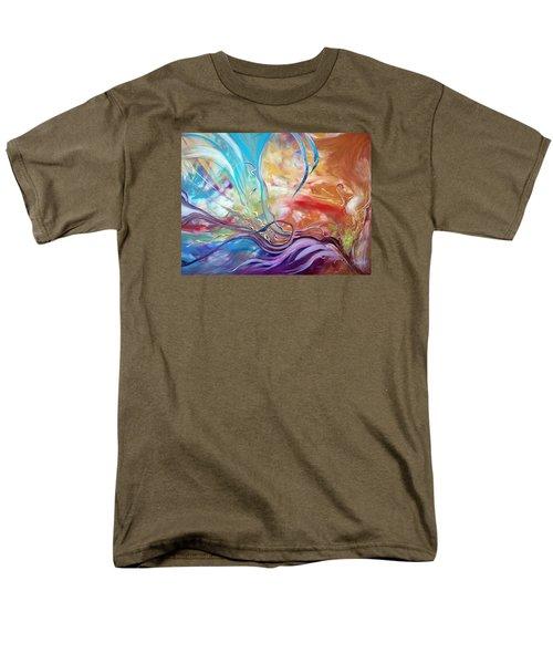 Power Of Now Men's T-Shirt  (Regular Fit)