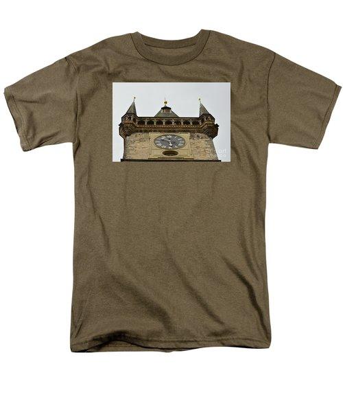 Men's T-Shirt  (Regular Fit) featuring the digital art Prague-architecture 2 by Leo Symon