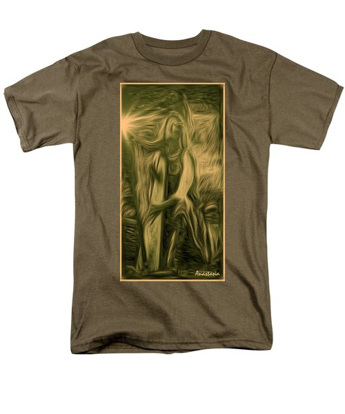 Praise Him With The Harp I Men's T-Shirt  (Regular Fit) by Anastasia Savage Ealy
