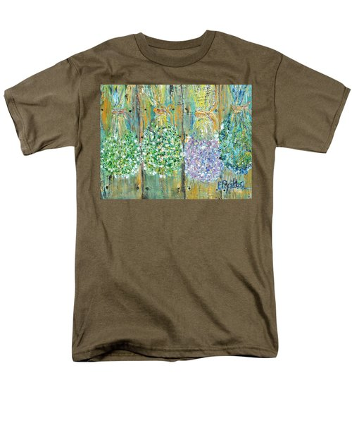 Men's T-Shirt  (Regular Fit) featuring the painting Preserved Herbs by Evelina Popilian