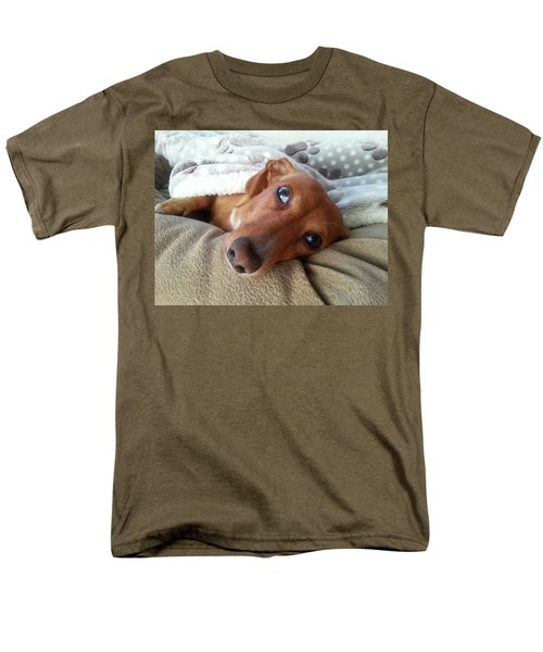 Pretzel By Chera Men's T-Shirt  (Regular Fit) by John Loreaux