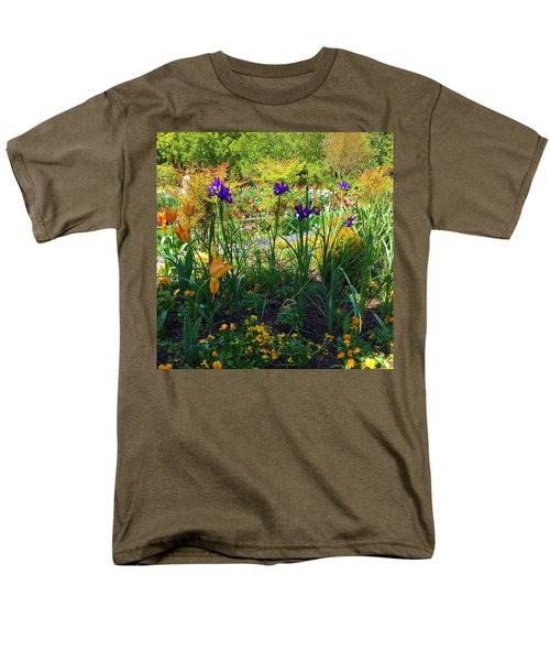Pretty Flowers Men's T-Shirt  (Regular Fit) by Kay Gilley