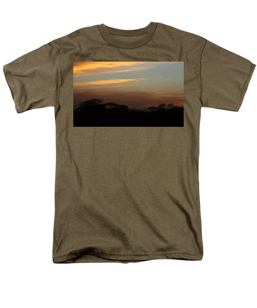 Pretty Pastel Sunset Men's T-Shirt  (Regular Fit) by Ellen O'Reilly