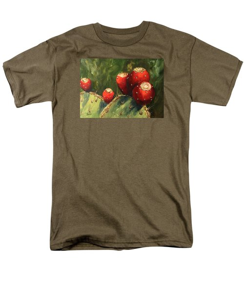 Prickly Pear IIi Men's T-Shirt  (Regular Fit) by Torrie Smiley