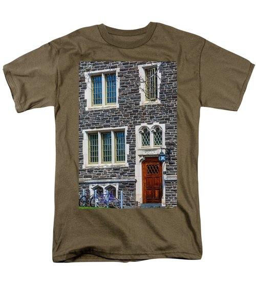 Men's T-Shirt  (Regular Fit) featuring the photograph Princeton University Patton Hall No 9 by Susan Candelario