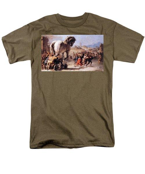 Procession Of The Trojan Horse  Men's T-Shirt  (Regular Fit)