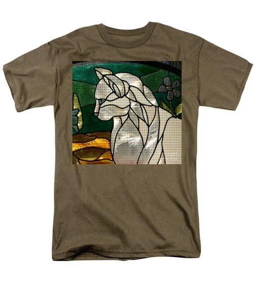 Profile Of A Cat Men's T-Shirt  (Regular Fit) by Marie Neder