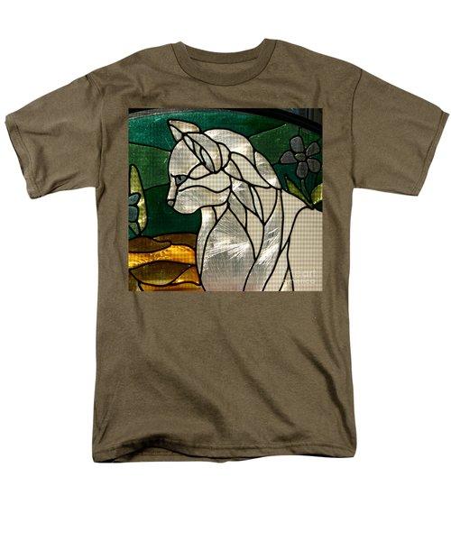 Profile Of A Cat Men's T-Shirt  (Regular Fit)