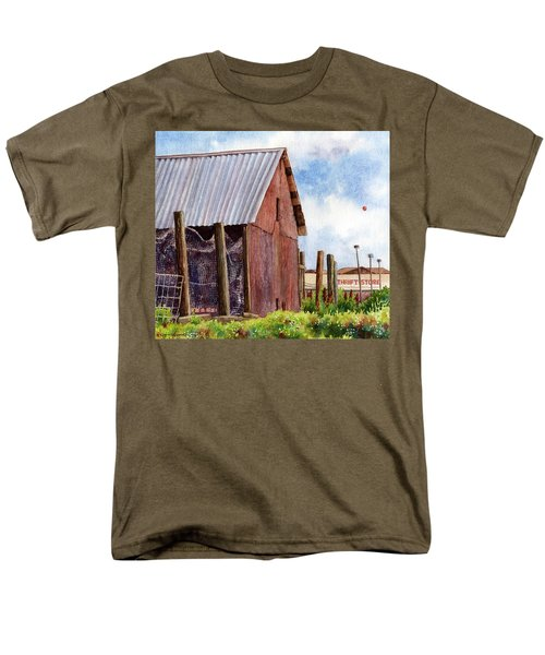 Men's T-Shirt  (Regular Fit) featuring the painting Progression by Anne Gifford
