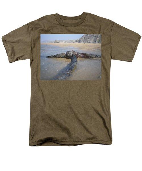 Propeller Steamship Belem Shipwreck Men's T-Shirt  (Regular Fit) by Richard Brookes