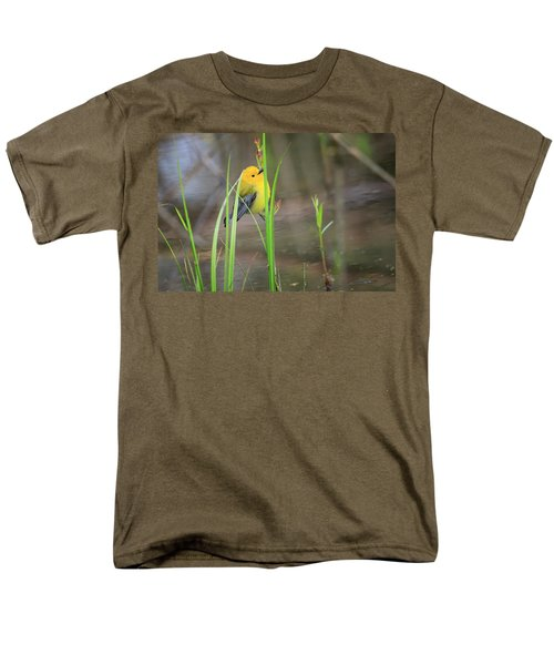 Prothonotary Warbler 5 Men's T-Shirt  (Regular Fit) by Gary Hall