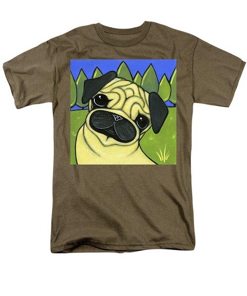 Pug Men's T-Shirt  (Regular Fit) by Leanne Wilkes