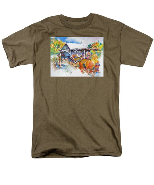 Pumpkin Time Men's T-Shirt  (Regular Fit) by Mary Haley-Rocks
