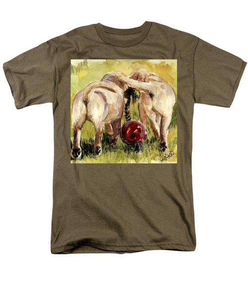 Puppy Butts Men's T-Shirt  (Regular Fit) by Molly Poole
