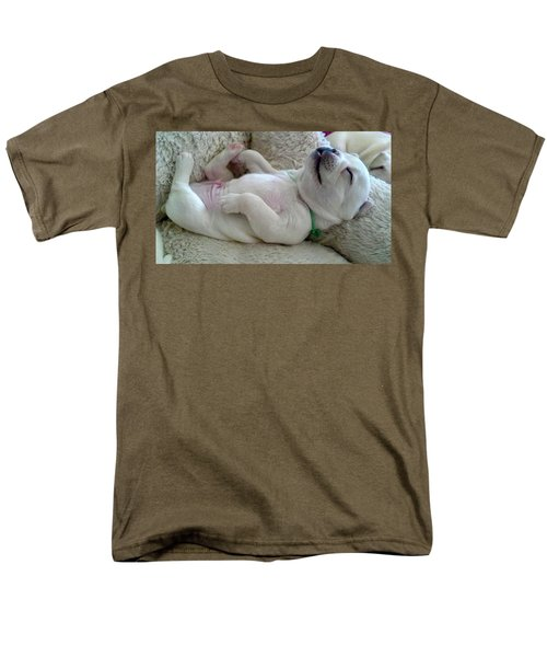 Puppy Dog Dreams Men's T-Shirt  (Regular Fit) by Russell Keating