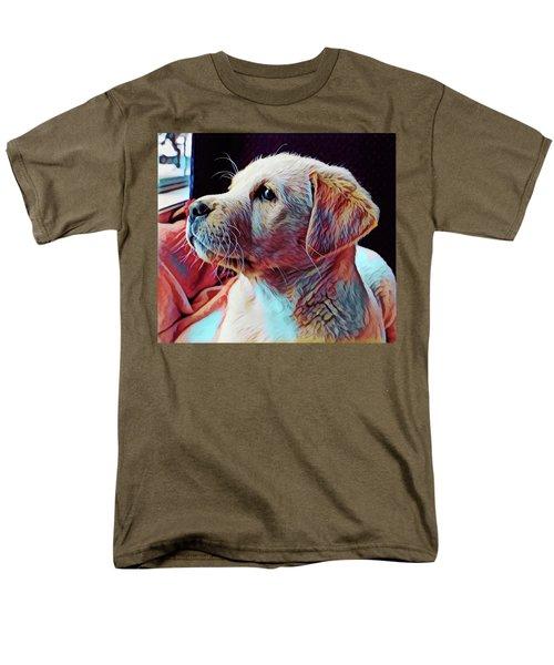 Puppy Dog Men's T-Shirt  (Regular Fit) by Gary Grayson