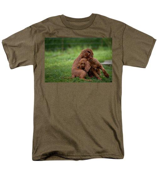 Puppy Love Men's T-Shirt  (Regular Fit) by Robert Krajnc
