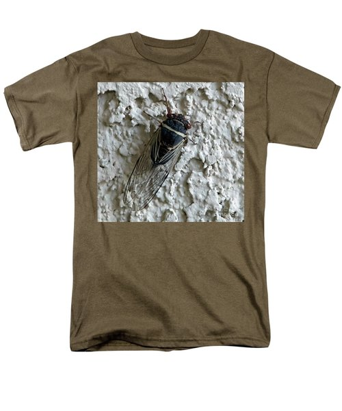 Men's T-Shirt  (Regular Fit) featuring the photograph Putnam's Cicada by Anne Rodkin
