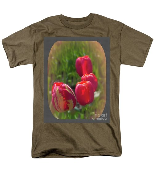 Quad Tulips Men's T-Shirt  (Regular Fit) by Ansel Price