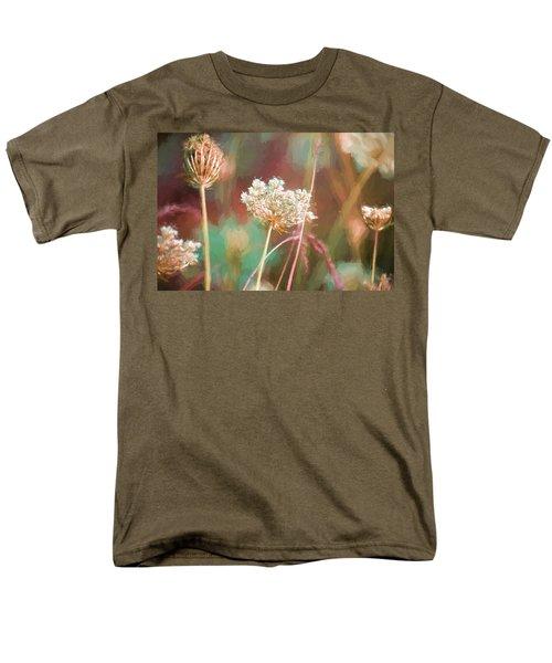 Queen Anne Impasto Men's T-Shirt  (Regular Fit) by Bonnie Bruno