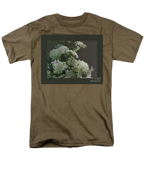Queen's Bouquet Men's T-Shirt  (Regular Fit) by Patricia Overmoyer